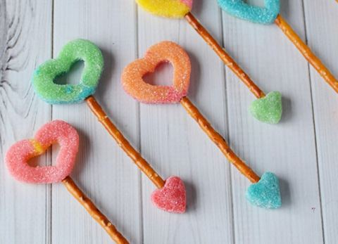 These easy Cupid's Arrow Valentine Treats are perfect for the ones you love!