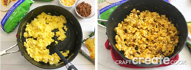 If getting healthy and living a healthier lifestyle was one of your New Year's resolutions this year, you will love our Mexican Breakfast Scramble.