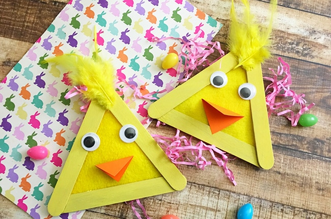 Easy Easter Popsicle Stick Craft Craft Create Cook Craft Create Cook