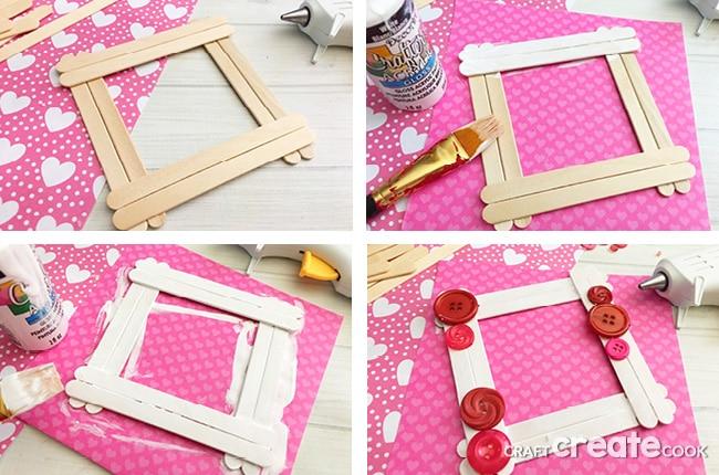 Craft Create Cook Valentine Popsicle Stick Craft Craft