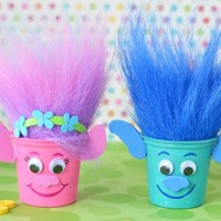 Easy to Make Trolls Party Crafts