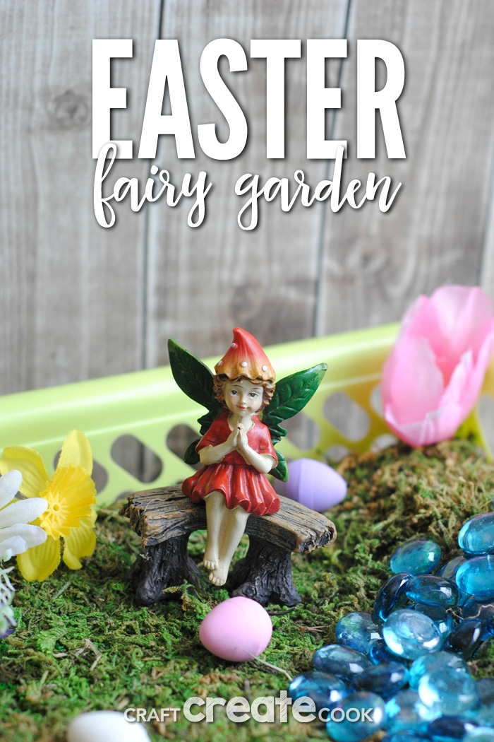Easter Fairy Gardens are perfect for spring!