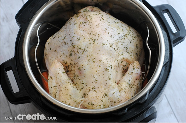 Easy Whole Instant Pot Chicken