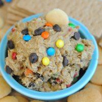 Eggless Monster Cookie Dip Recipe