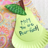 Mother's Day Paper Plate Craft for Kids