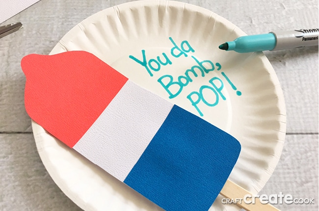 Our Father's Day Craft for Kids is perfect if your looking for a cute and easy Father's Day gift.