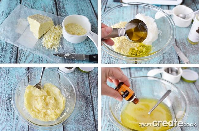 How to Make Shaving Cream using Essential Oils