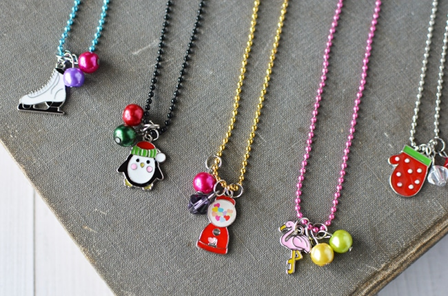 Making Necklaces Kids Craft Ideas To Sell Craft Craft Create Cook