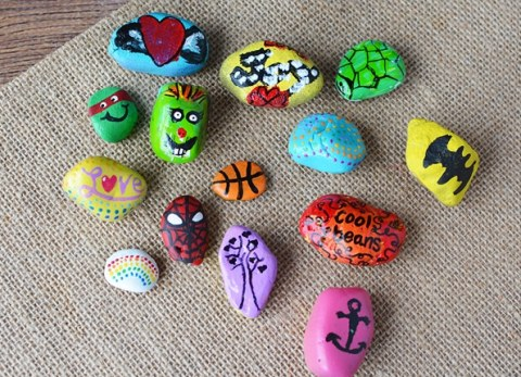 If you haven't seen a painted rock in hidden in your neck of the woods, it's time to get on the bandwagon.