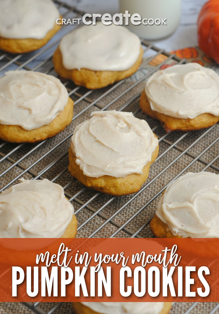 If you love pumpkin, you have to make our ultimate melt in your mouth pumpkin cookie recipe!
