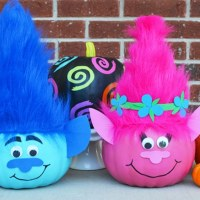 Troll Pumpkins to make for Halloween