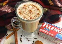 Our Sweet Cinnamon Spice Chai Latte makes for a great relaxing beverage after a long day.
