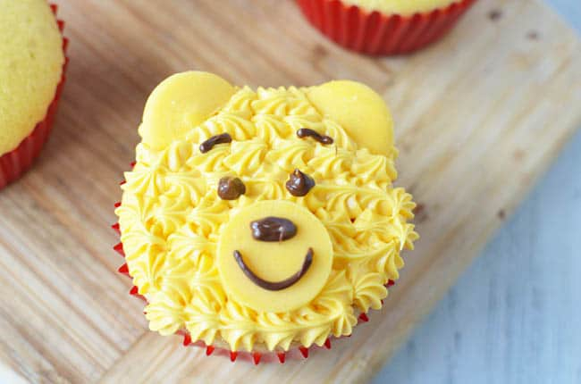 Inspired By The Movie Christopher Robin These Winnie Pooh Cupcakes Are Easy To Make