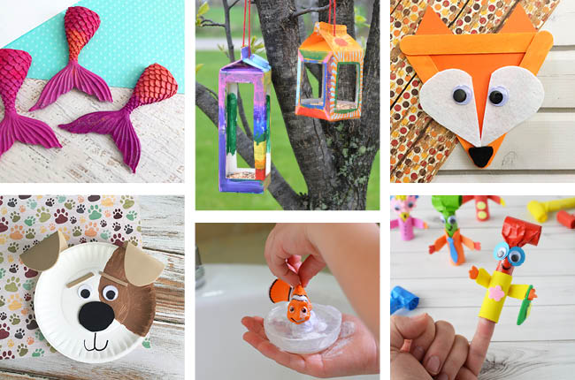 Great Summer Crafts for Kids