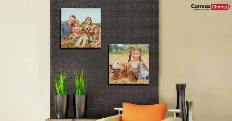 Create wonderful memories this holiday season with unique custom photo gifts from Canvas Champ!