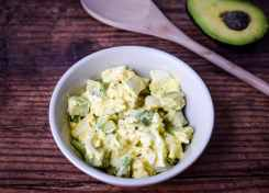 Avocado Egg Salad for the Keto Diet