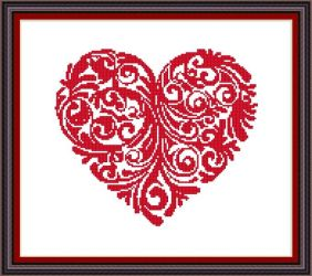 Heart Beat - Celtic Rose Patterns