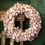 Valentine Curly Paper Wreath