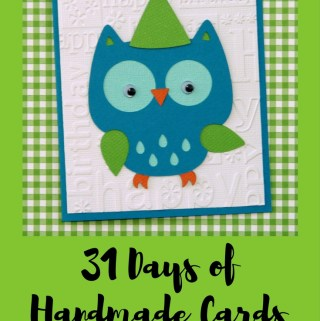 Welcome to Day 10 of 31 Days of Handmade Cards. 31 days of card making tutorials showcasing birthdays, love, thanks and thinking of you.