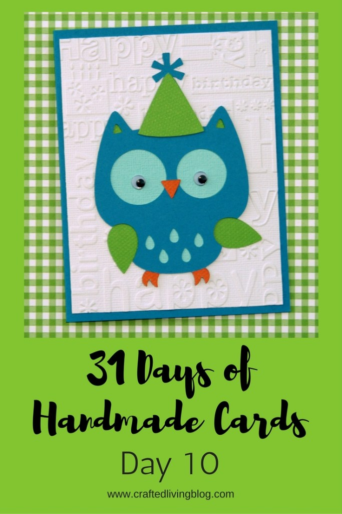 Welcome to Day10 of 31 Days of Handmade Cards. 31 days of card making tutorials showcasing birthdays, love, thanks and thinking of you.