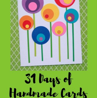 Welcome to Day 11 of 31 Days of Handmade Cards. 31 days of card making tutorials showcasing birthdays, love, thanks and thinking of you.