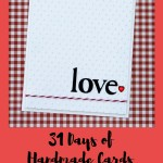 31 Days of Handmade Cards – Day 15