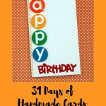 31 Days of Handmade Cards – Day 8