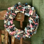 Day of the Dead Curly Paper Wreath