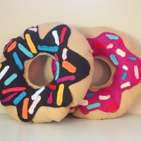 Donut Pillow - Crafted Spaces, Barrie, ON - Kids Sewing ...