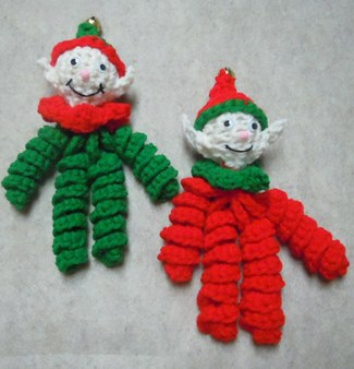 Wool Christmas Ornaments Patterns