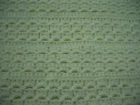 Craft: crochet pattern to make an afghan, baby blanket and ...