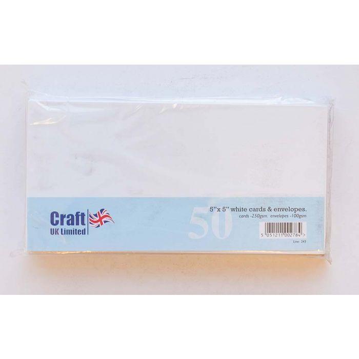craft uk 5x5 white