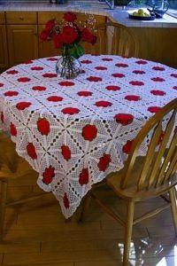 Crochet Tablecloth Patterns  CraftFreebiescom
