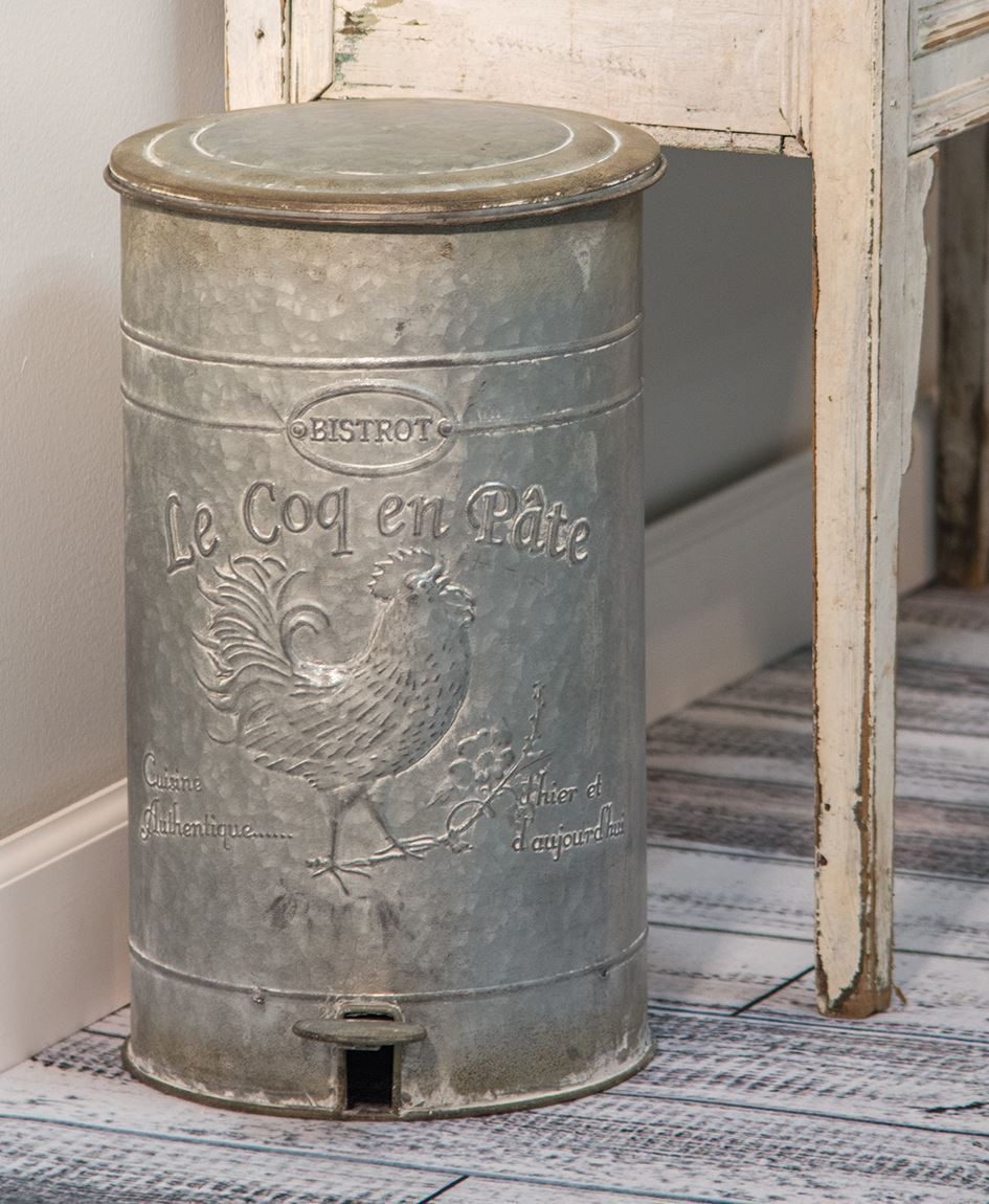 french country kitchen lighting ikea tables and chairs craft house designs - wholesale| embossed metal trash bin
