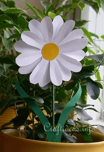 Paper Crafts for Kids  Mothers Day Flowers