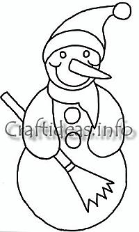 Free Craft Patterns and Templates for Christmas and Winter 4