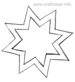 8 Sided Star Craft Pattern