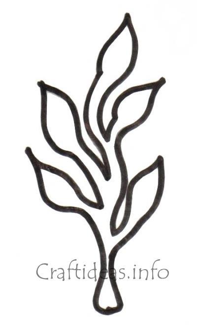 Craftideasinfo Free Seaweed Craft Pattern