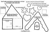 Free Craft Patterns and Templates for Christmas and Winter 5