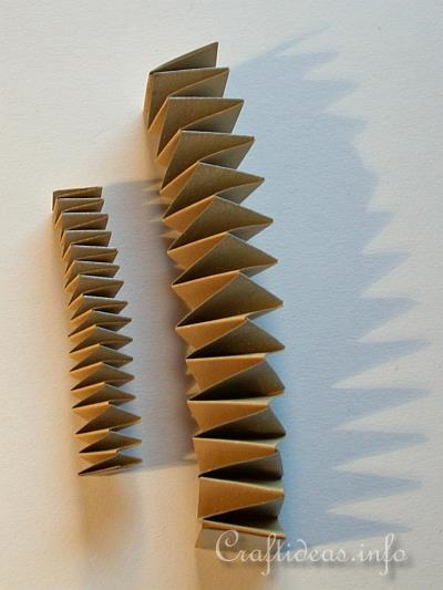 Paper Folding Craft Jacobs Ladder