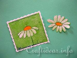 Paper Napkin Applique with Fusible Web 6