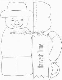 Autumn, Fall, Halloween and Thanksgiving Craft Patterns 2