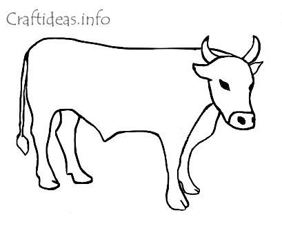 Ox Printable Coloring Pages