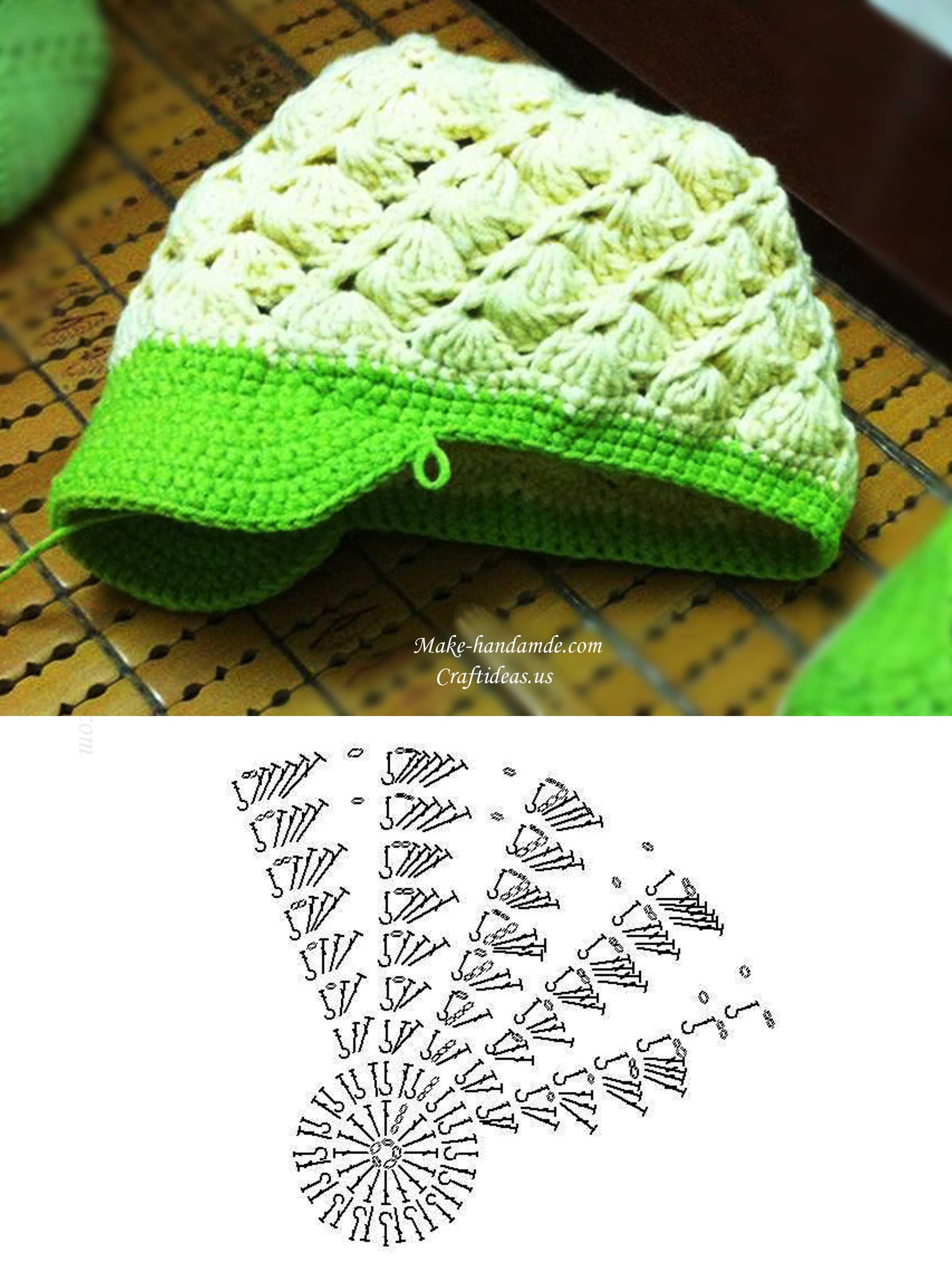 Crochet Cute Baby Brim And Hat Craft Ideas Rh Craftideas Us Baby  Development Chart Baby At 12 Weeks