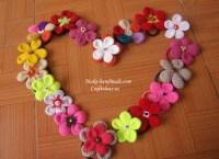 Crochet Hair Clip Ideas ~ wmperm.com for