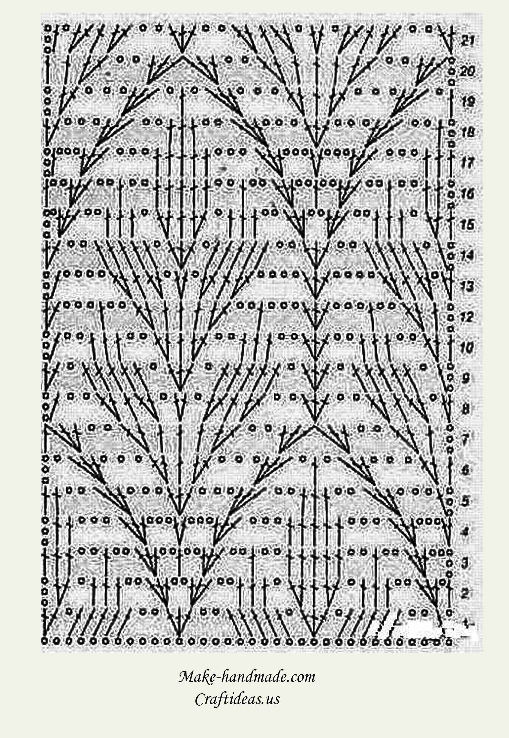 free leaf crochet pattern diagram 2008 mitsubishi lancer wiring charming lace leaves scarf for ladies craft ideas