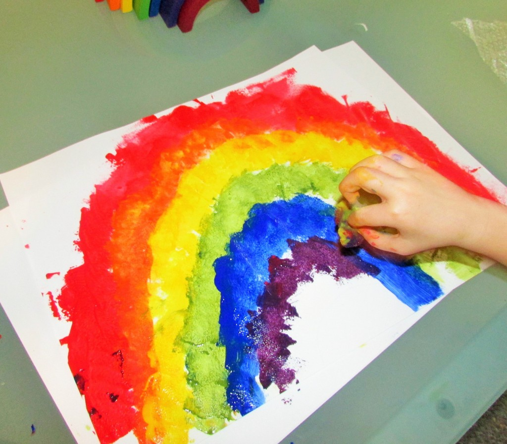 Rainbow Color Mixing Archives