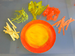 Craft Ideas for Kids - paper plate lion