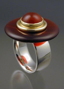 Steven Brixner, Carnelian Ring, 2006