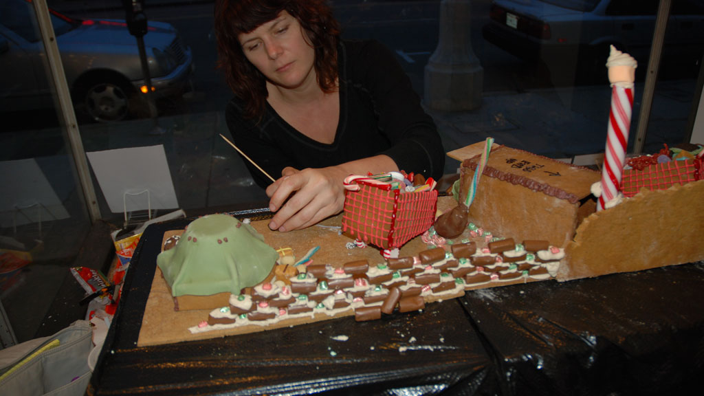 Gingerbread Skid Row